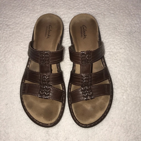 c6e3e07ff45 Clarks Shoes - Clarks Bendables Brown Ina Lovely Sandals Size 8.5